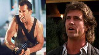 Bruce Willis in 'Die Hard' and Mel Gibson in 'Lethal Weapon'
