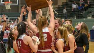 State AA girls: Helena High 3-peats, defeats Billings West 55-37