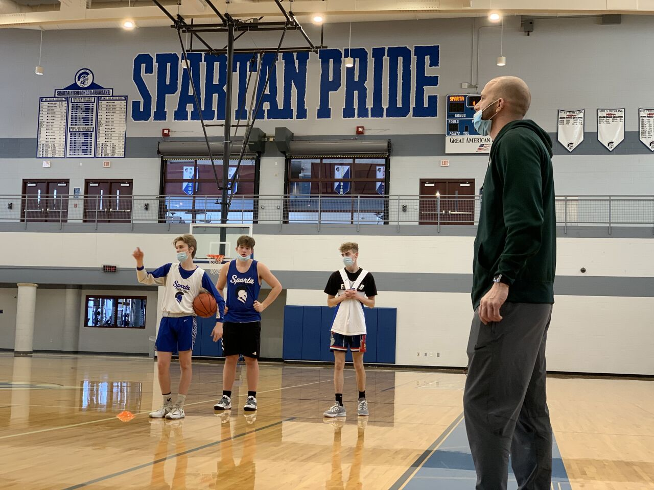 Sparta's Austin Thornton