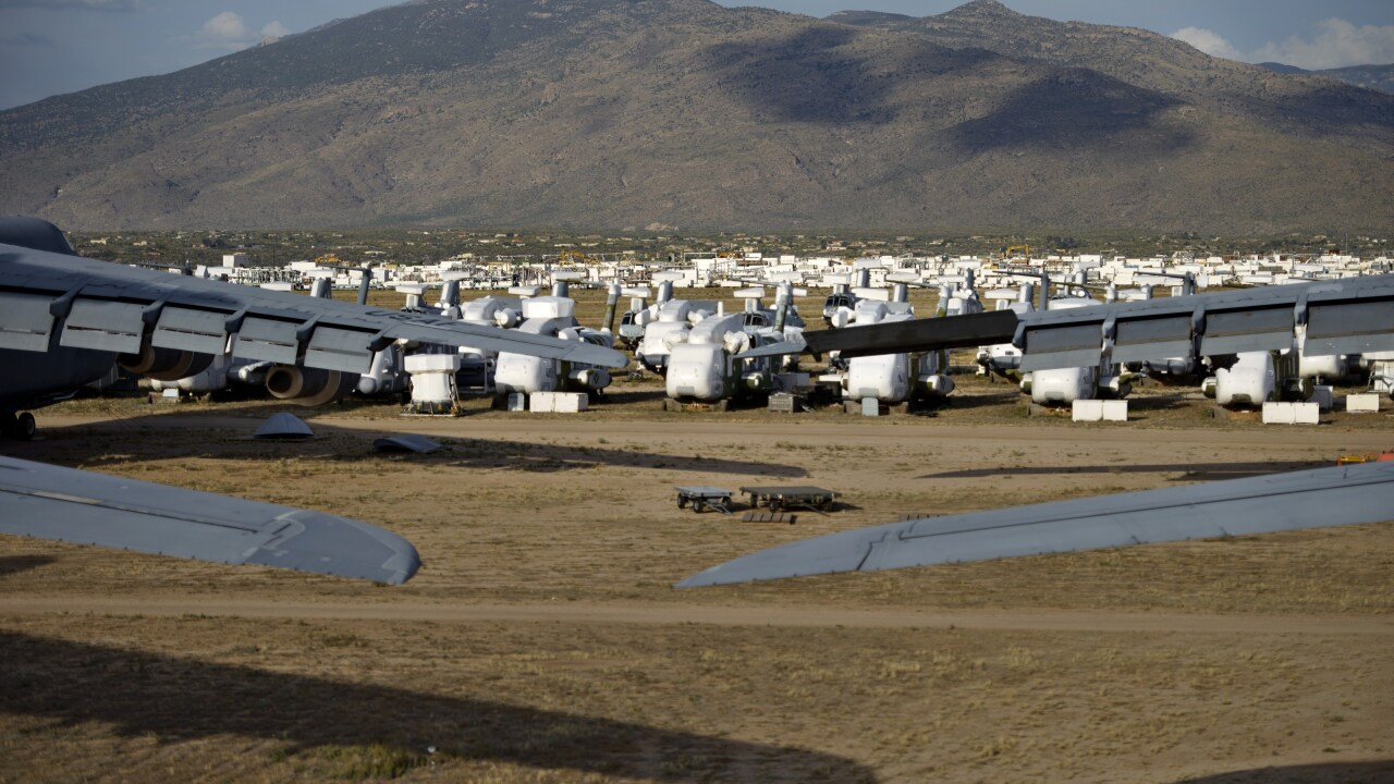 Desperate for planes, military turns to the 'boneyard'