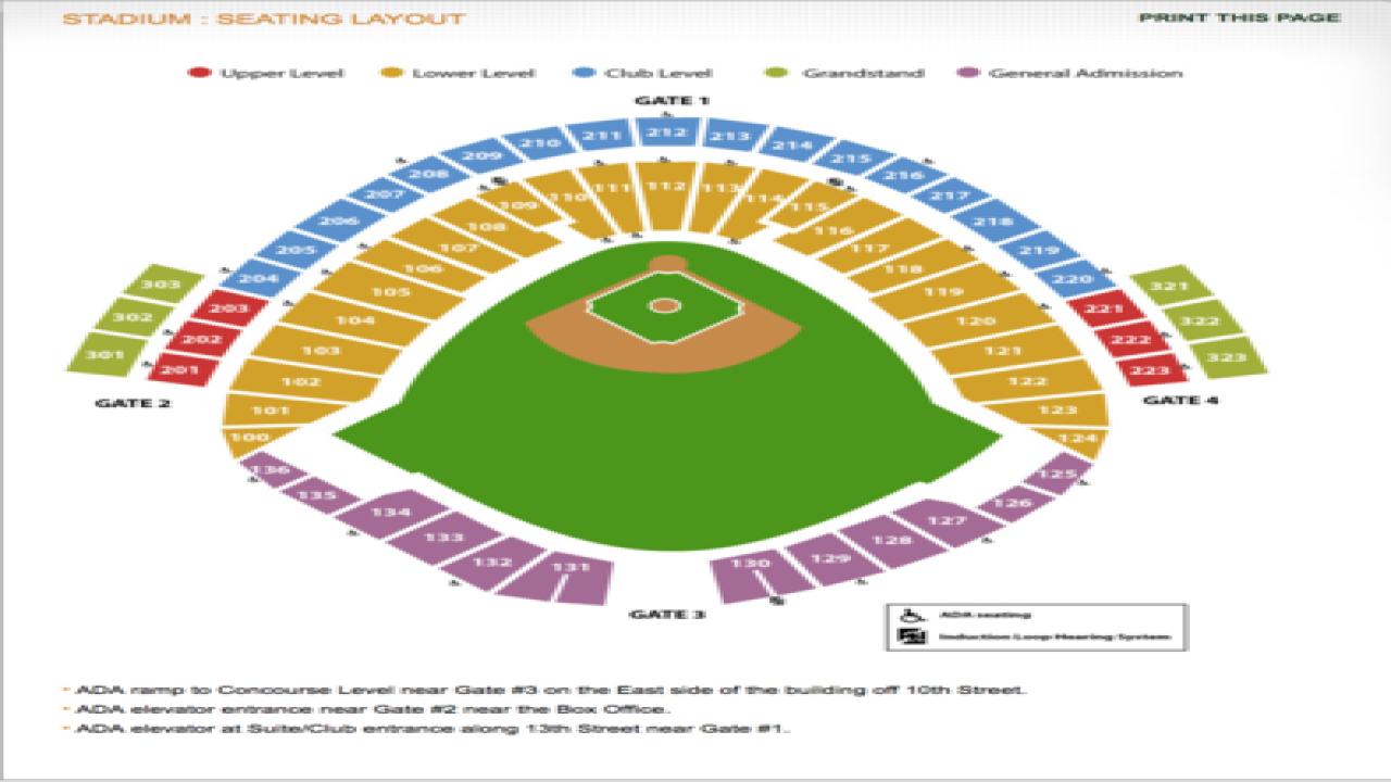College World Series ticket information