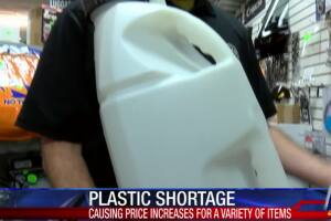 Price of plastic raw materials has risen 15-25 percent
