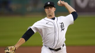 Skubal strikes out career-high eight, but Tigers fall to Singer, Royals