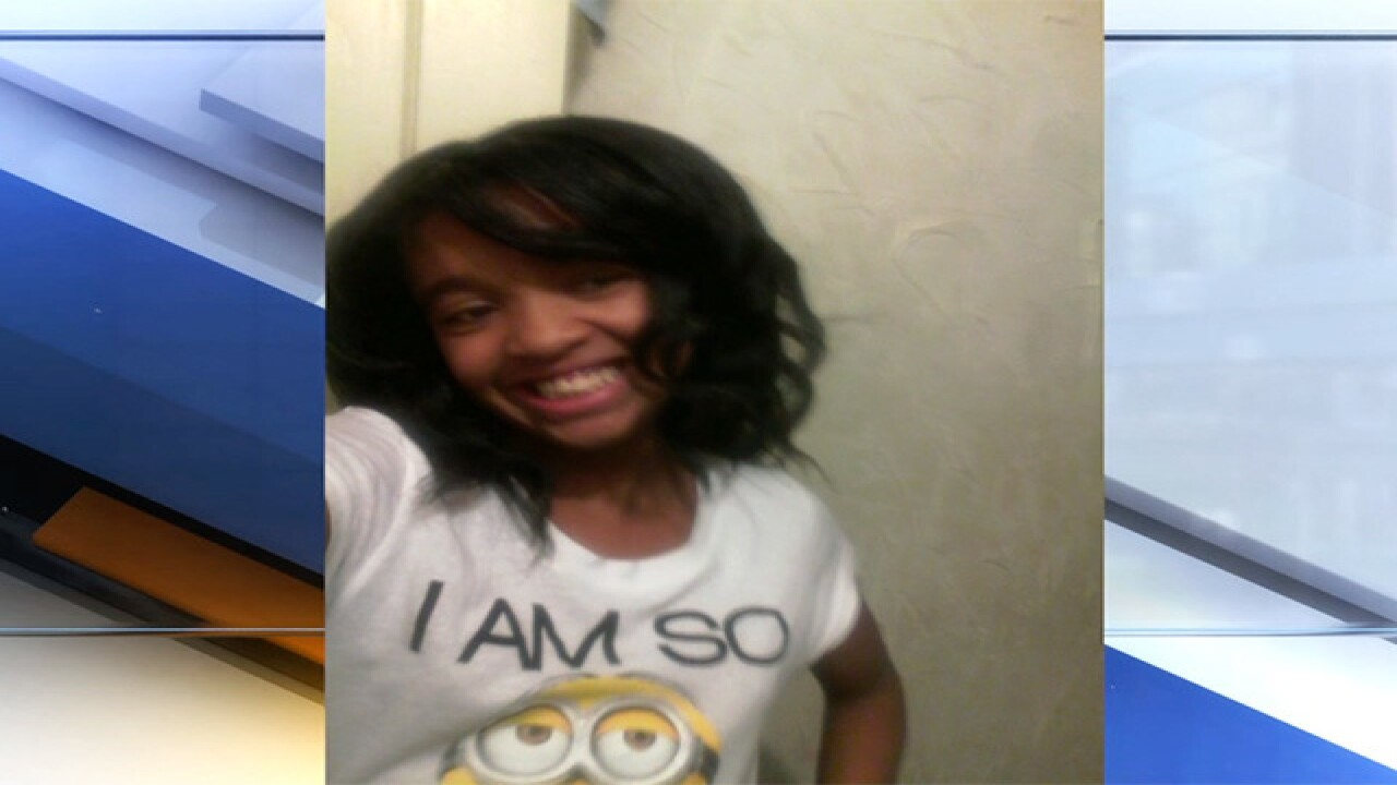 Photo of Alianna DeFreeze, who was lured away from a bus stop and later found in an abandoned home.