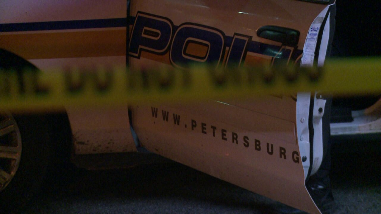 Police find wounded man in Petersburg intersection