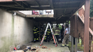 Home deck collapse leaves eight people hospitalized in Ferndale
