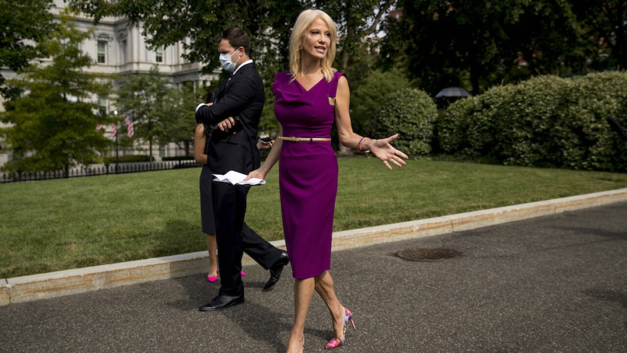 Kellyanne Conway says she's leaving White House at end of month