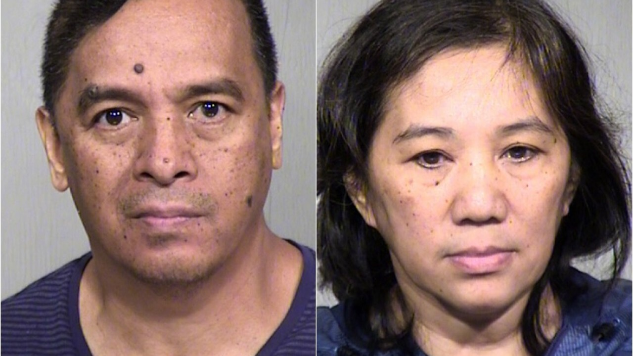 The Arizona Attorney General's Office announced Thursday that 56-year-olds Joseph Somera and Lolita Somera were indicted Monday in the resident's death.