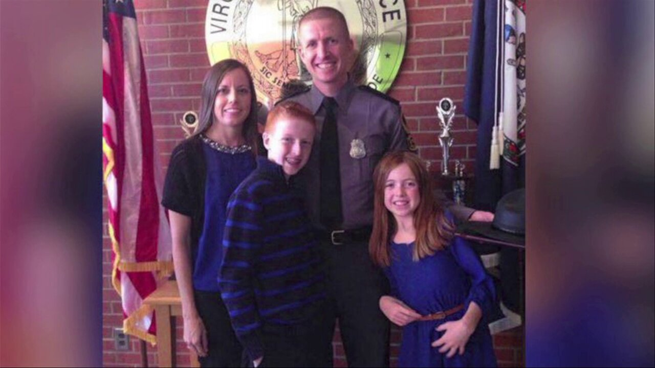 Widow of slain Trooper receives Mother's Day surprise from Virginia Beach radiostation