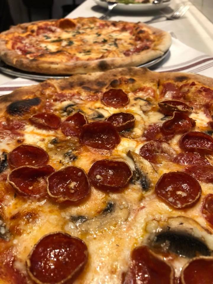 La Lanterna Pepperoni and Mushroom Pizza