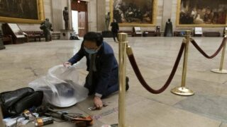 NJ Congressman Helped To Clean The Capitol Building After Riots