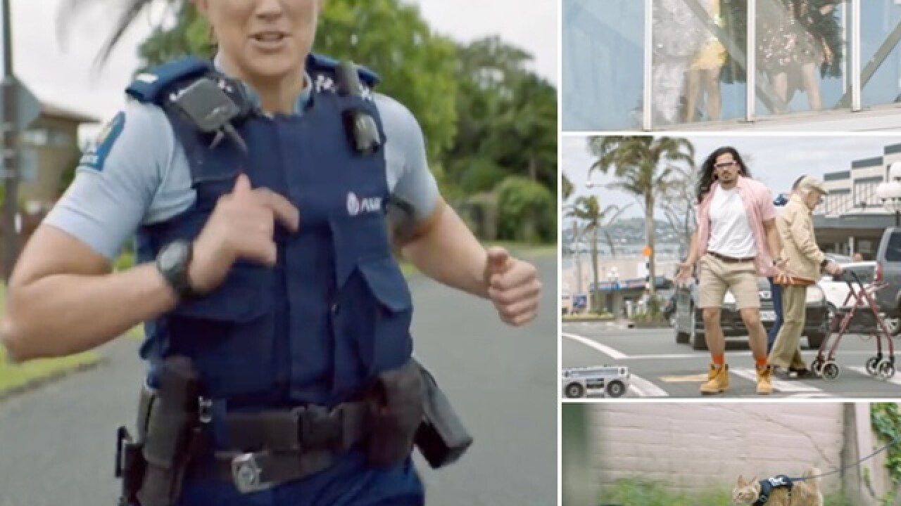 New Zealand cops launch 'world's most entertaining video yet' to lure new recruits