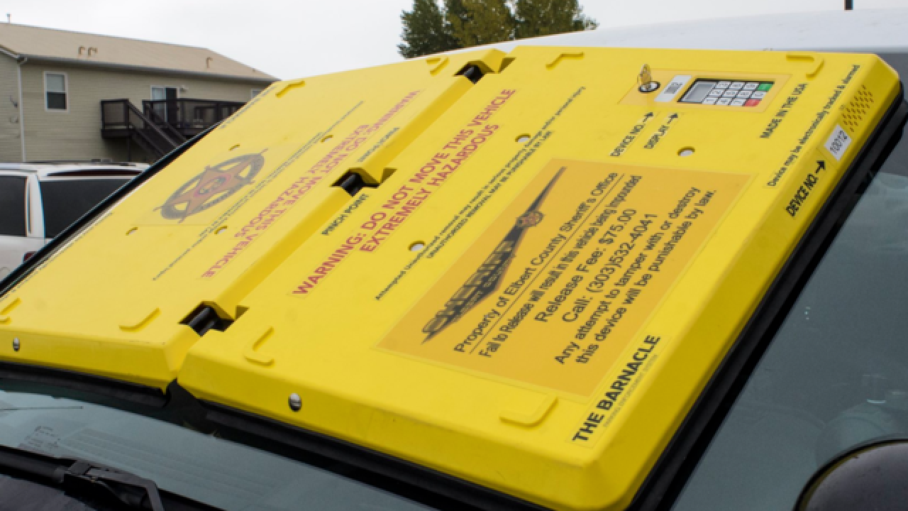 Out With The Boot And In With The Barnacle New Parking Enforcement Device Being Tested In Colorado
