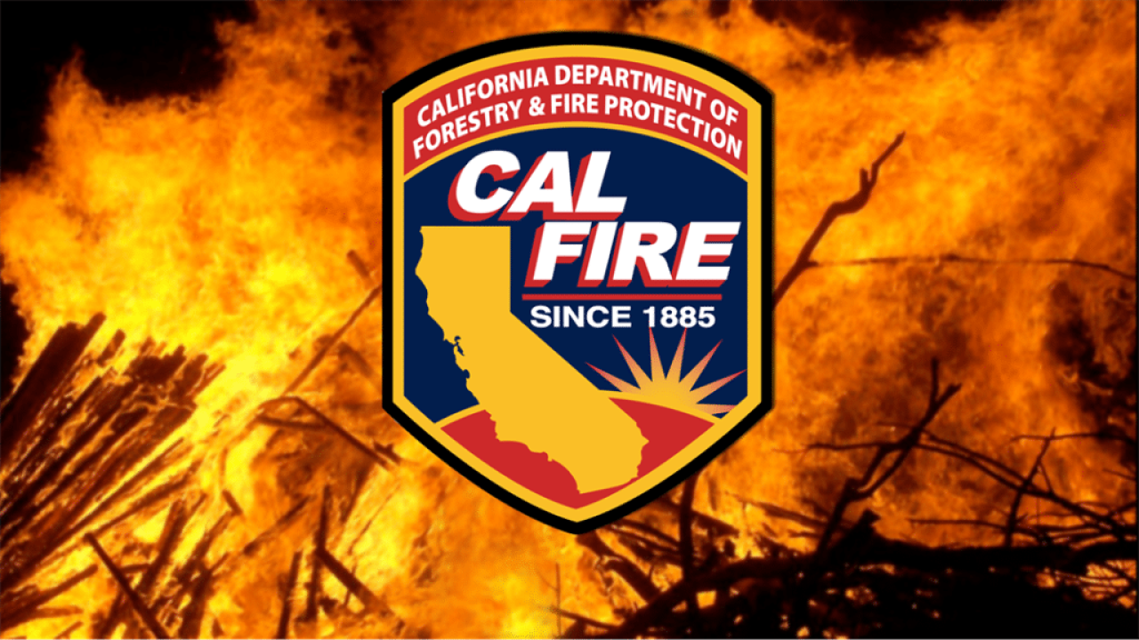 Cal Fire SLO responds to vegetation fire