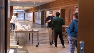 Williamston students and families get tested for COVID-19