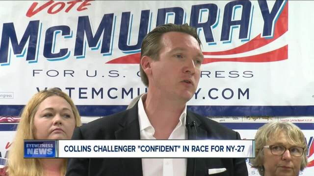 What do Collins' charges mean for NY-27 race?