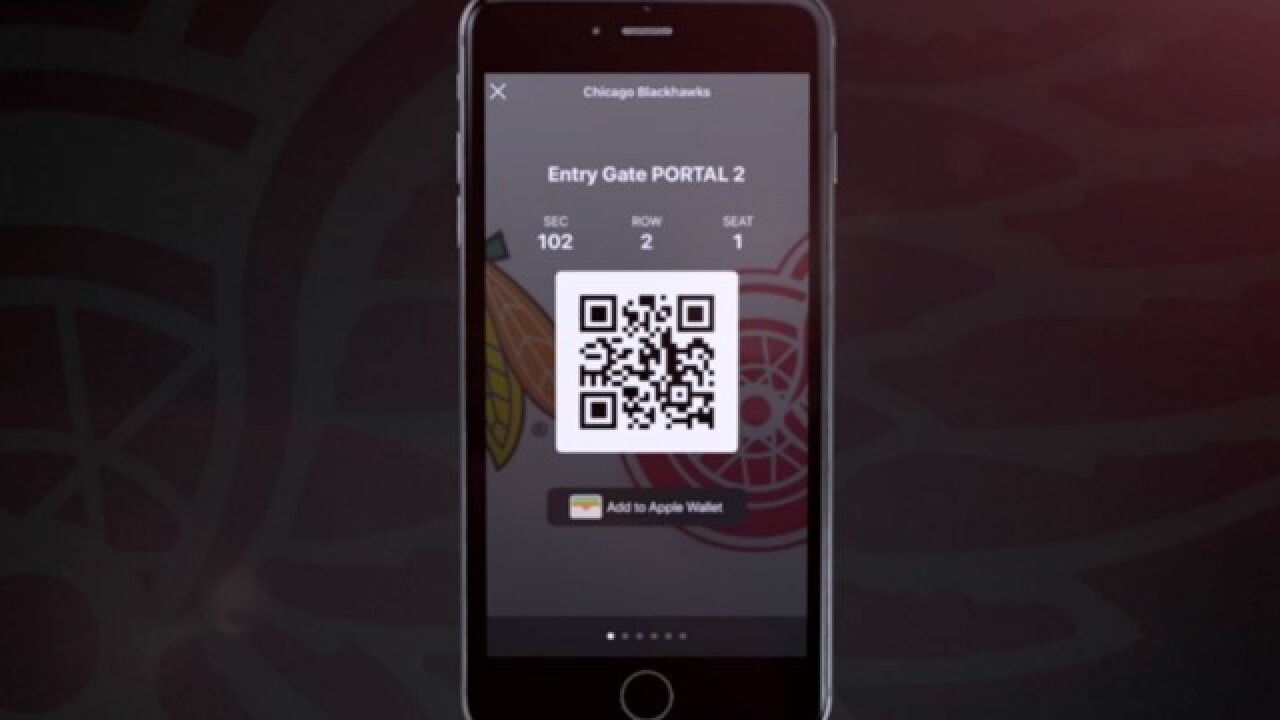 Mobile ticketing begins for Red Wings games at LCA; paper tickets not allowed
