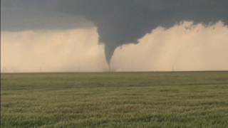 Tornado near Dodge City, KS May 2016