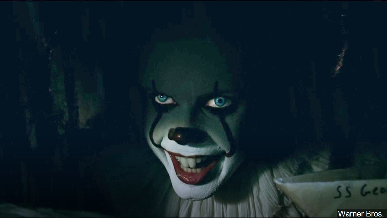 Bill Skarsgård in his role as Pennywise from the movie IT.jpg