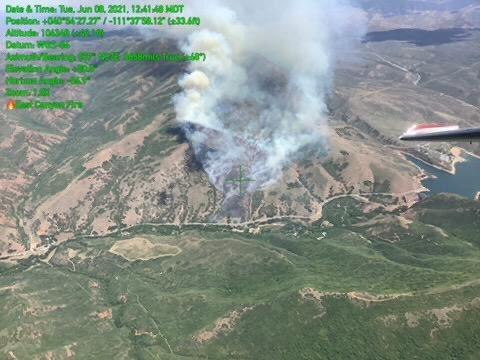 East Canyon Fire