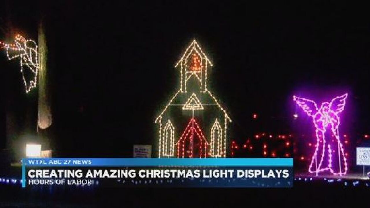 What it takes to create an amazing Christmas light display