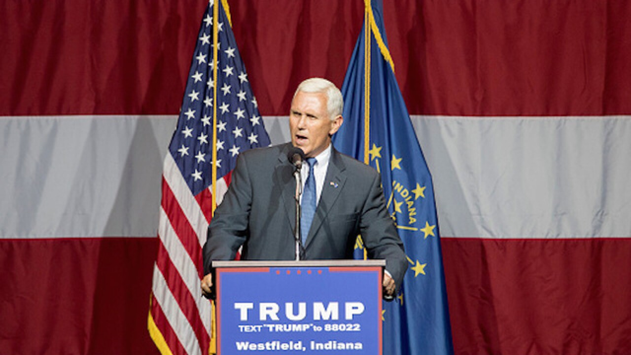 What are the pros and cons to selecting Pence as a running mate?