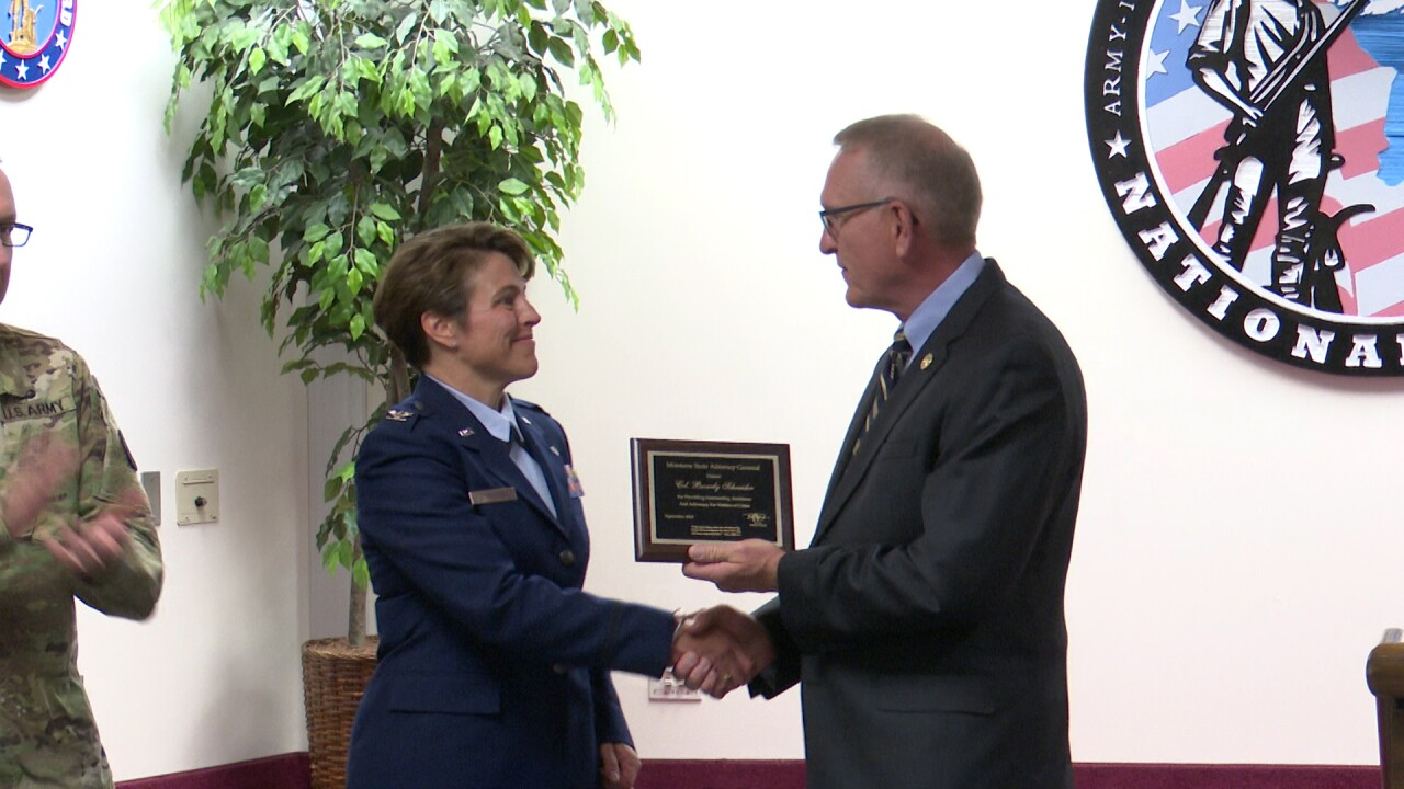 Montana National Guard judge advocate honored for work with crime victims