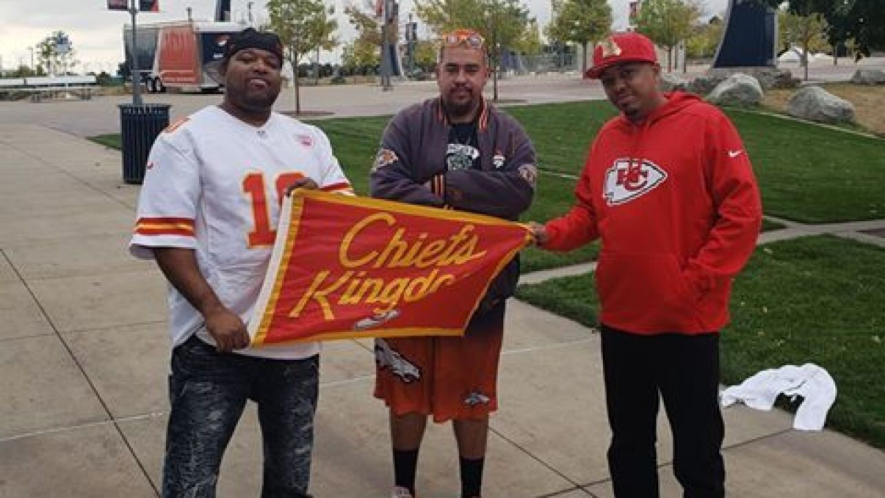 Chiefs fan gives John Elway plaque a makeover