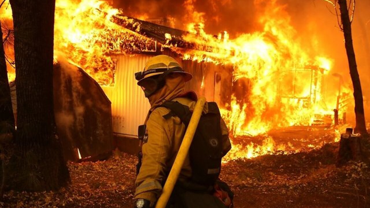 Paradise resident used hose to help save home as wildfire scorched neighborhood