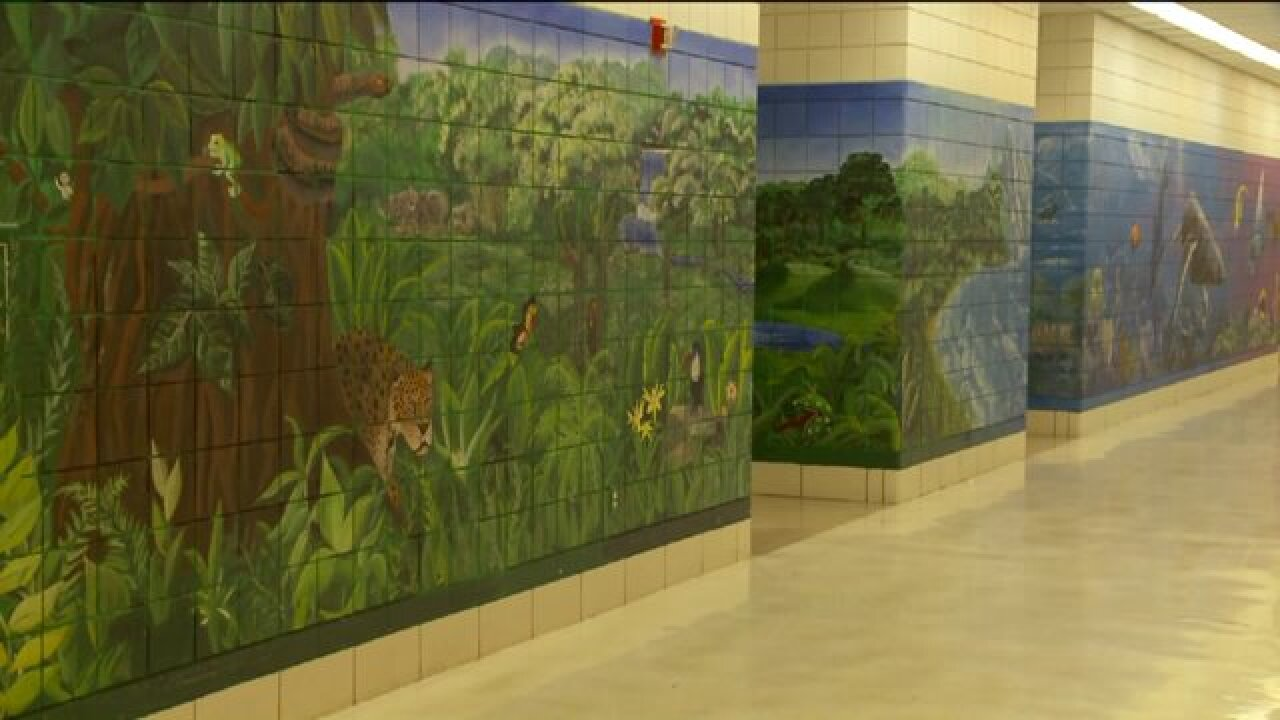 Mural 16 years in the making completed at East High School