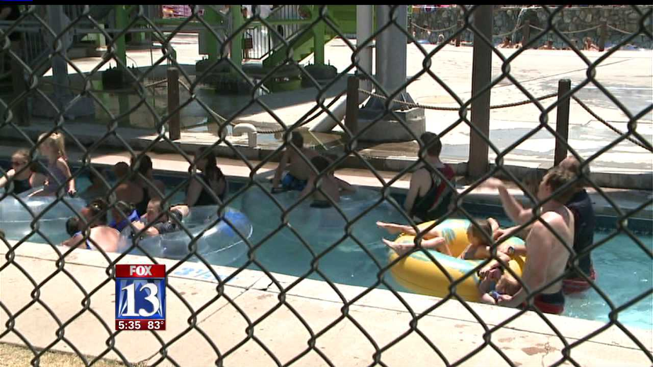 Girl hospitalized after near-drowning