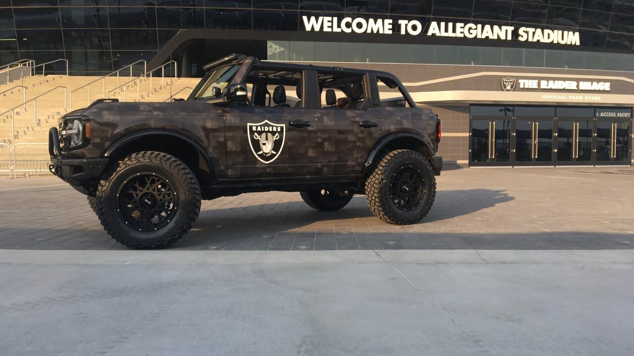 Raiders charity Ford Bronco 3.JPG