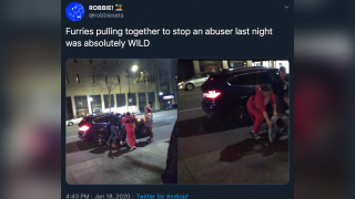 Group of 'furries' help police arrest domestic violence suspect outside of California convention