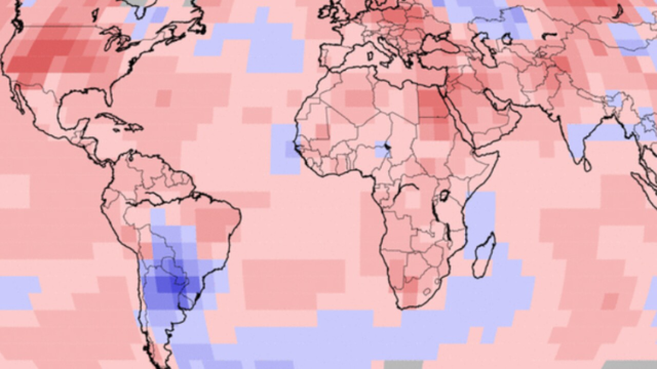 June 2016 was the hottest around the world