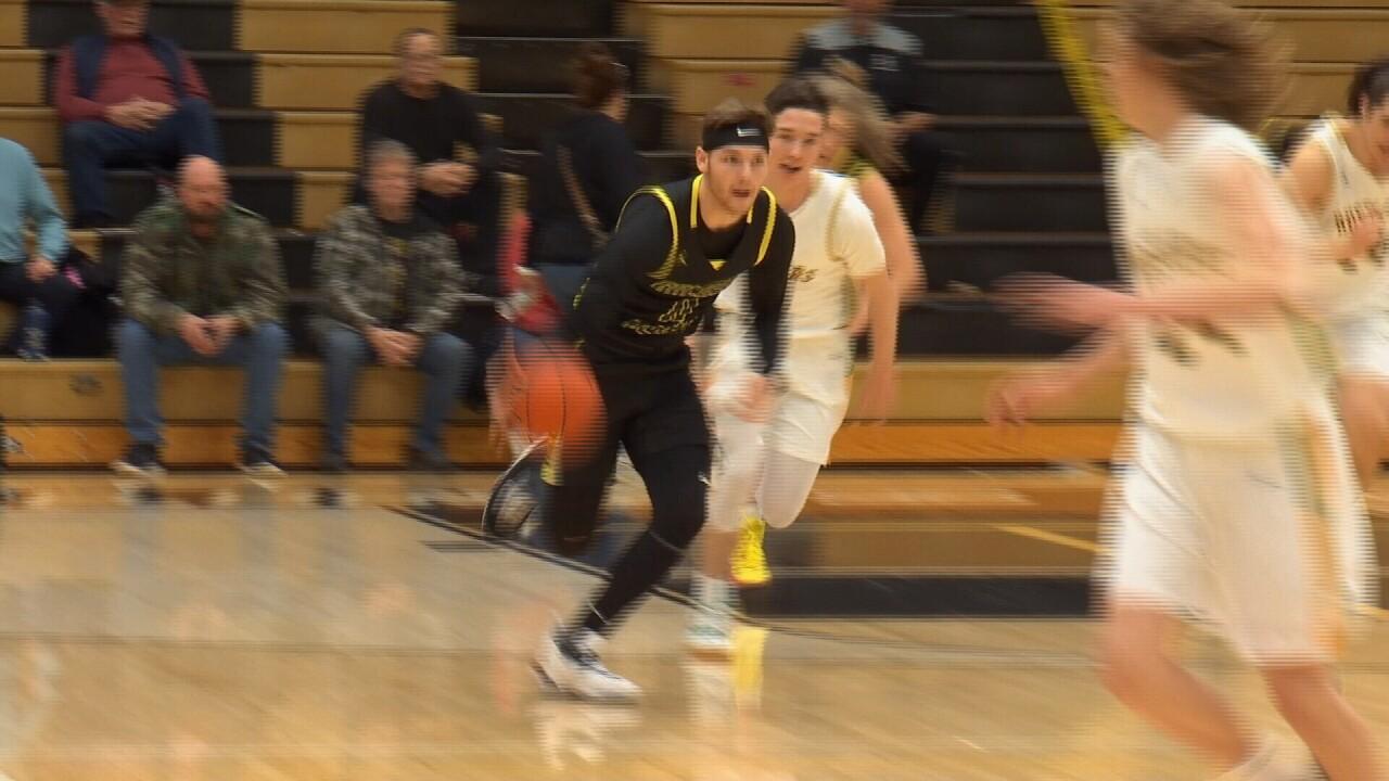 Josh Erbacher Billings West basketball