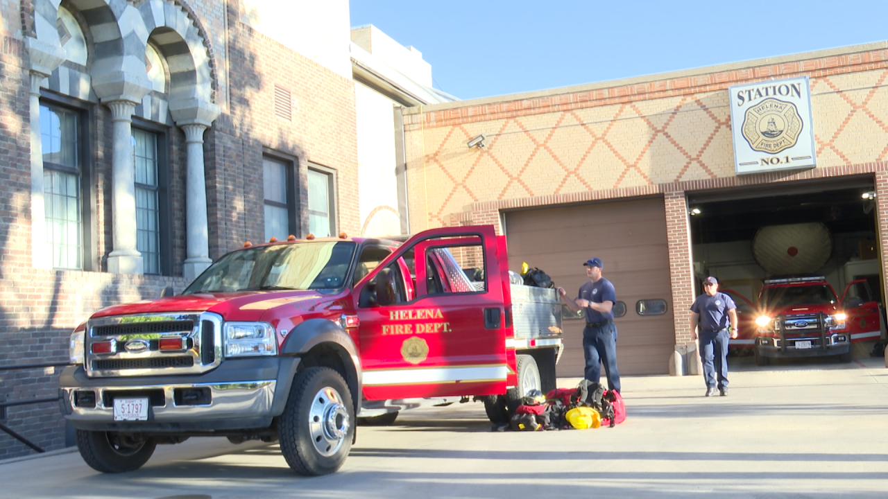 Helena firefighters depart to fight wildfires in California
