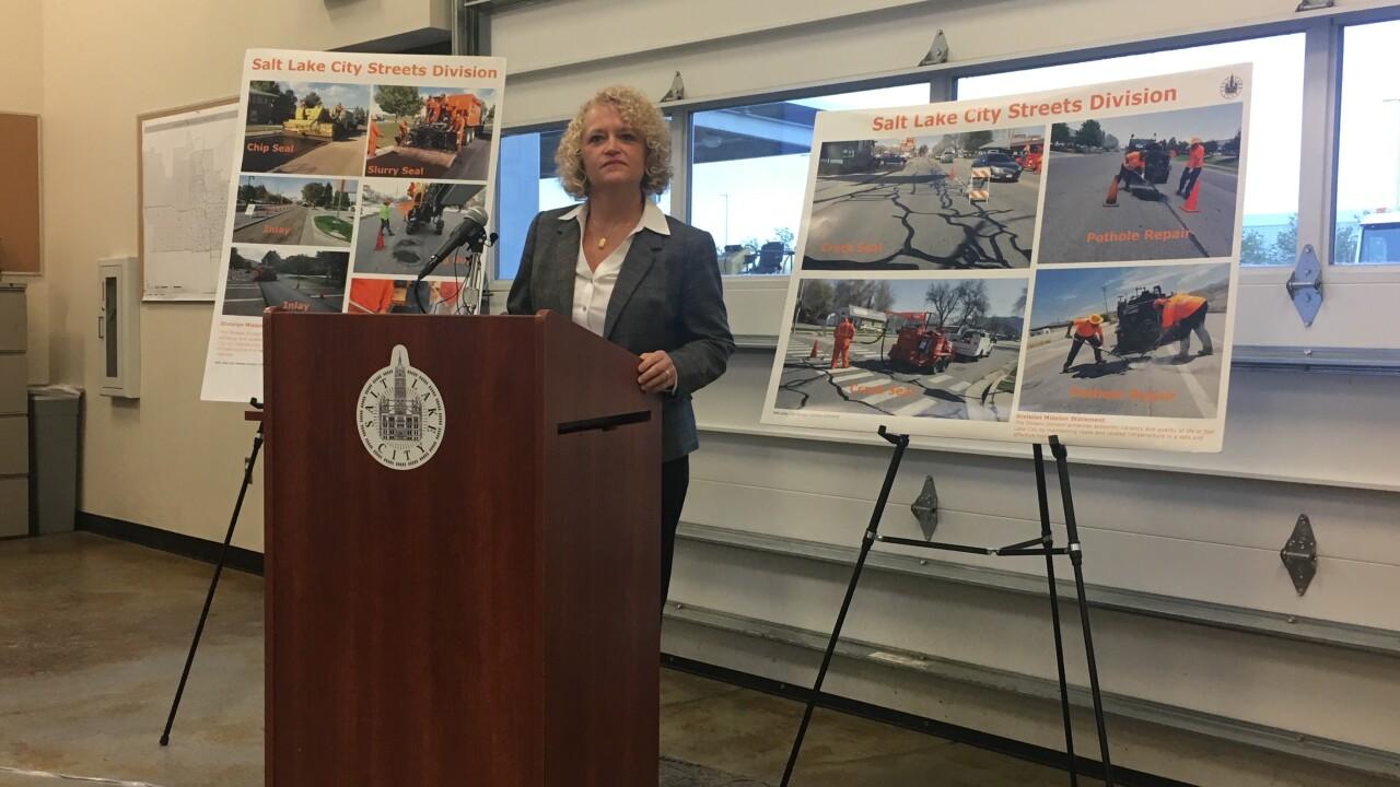 SLC Mayor Jackie Biskupski asks for sales tax hike to fix roads, fund expanded busservice