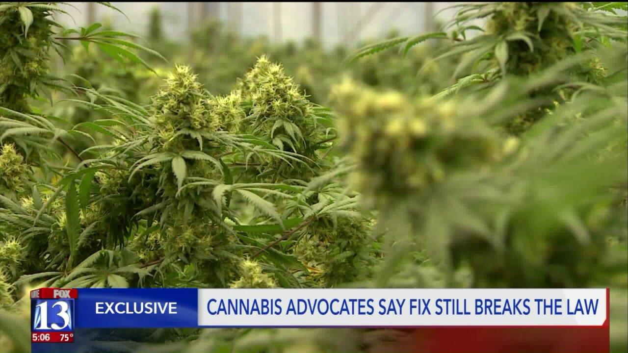Medical cannabis advocates claim legislature still didn't fix the problem of Utah committing drugcrimes