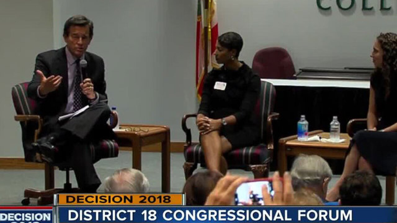 District 18 Congressional candidates hold forum in Palm Beach Gardens
