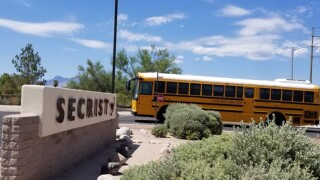 Tucson police investigated a threat at Secrist Middle School Friday morning.