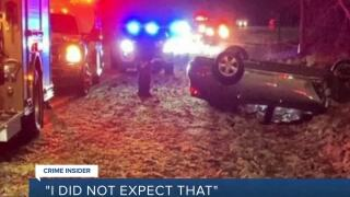 Stolen car involved in high-speed chase and crash on I-95 linked to homicide  l