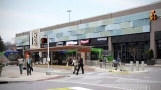 Construction is underway for first IndyGo Red Line bus station