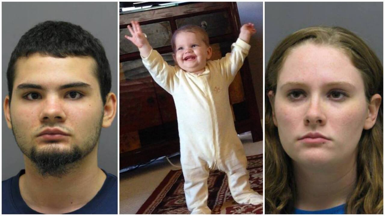 Police: Virginia baby dies after 16 hours in crib, while parents drank
