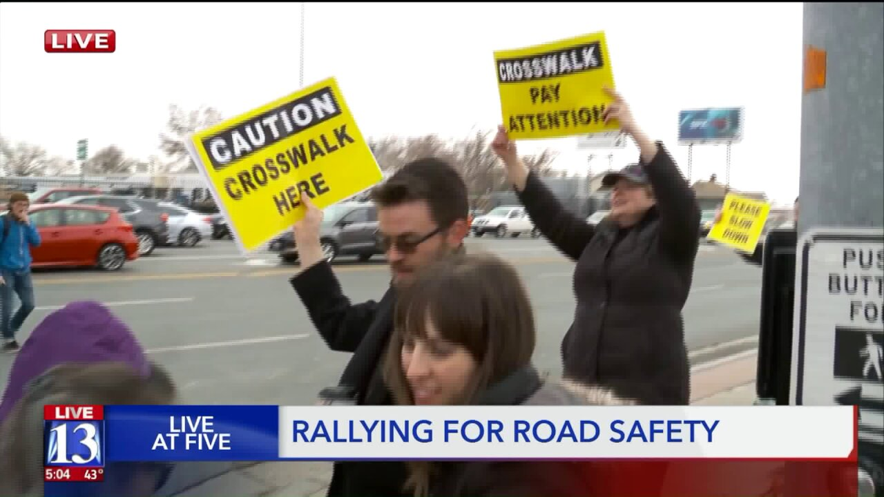 South Salt Lake rallies for roadsafety