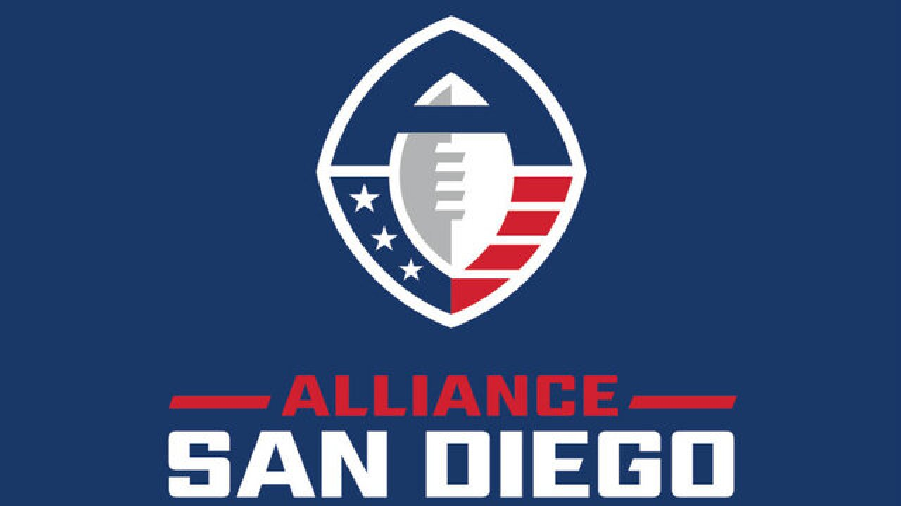 San Diego awarded team in Alliance of American Football league