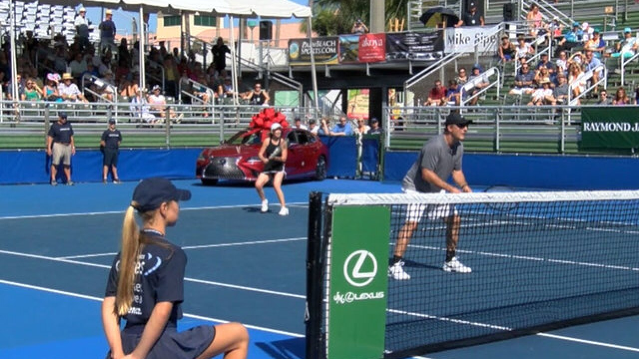 29th annual Chris Evert Pro-Celebrity Tennis Classic held in Delray Beach