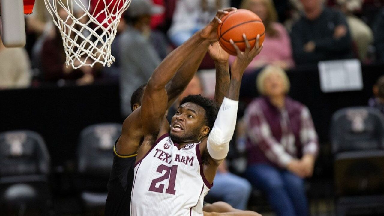 Texas A&M Men's Basketball to host Kansas State Saturday