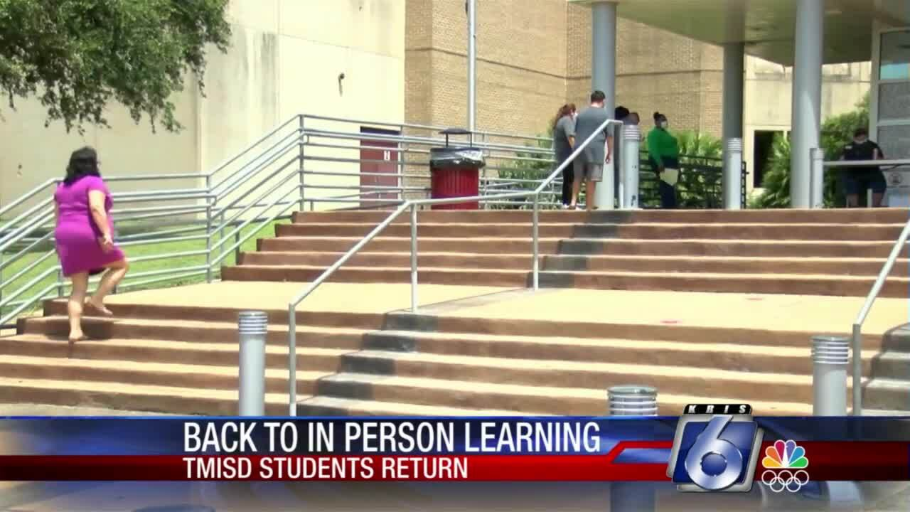 First day of classes at Tuloso-Midway ISD