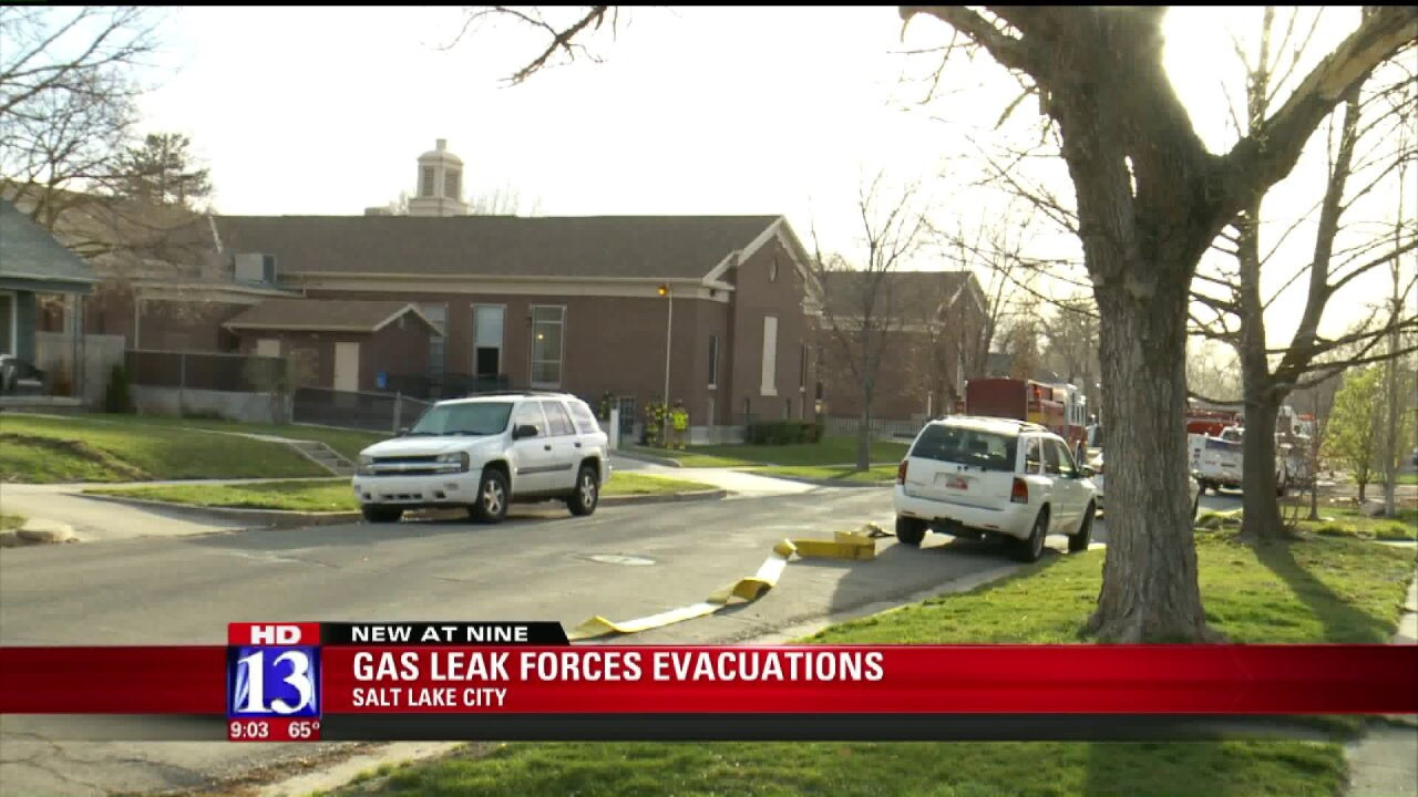 Residents return to homes after evacuated for gas leak