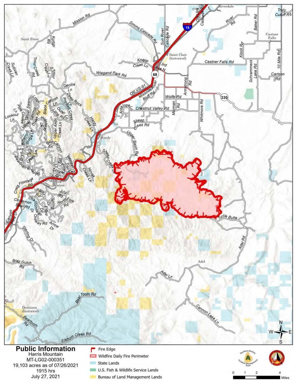 harris mountain fire map july 27.jpg